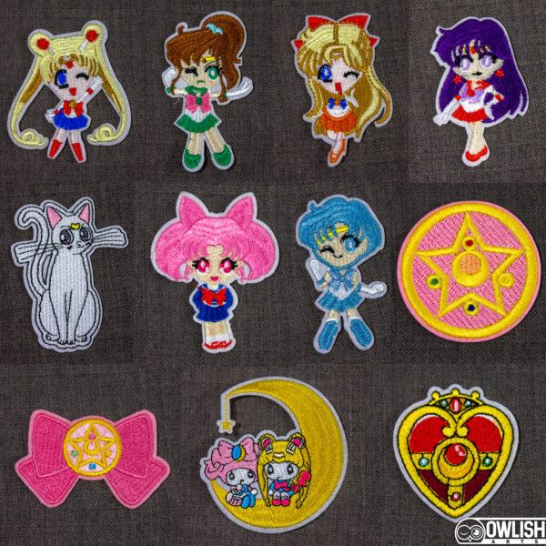 Sailor Moon Patches